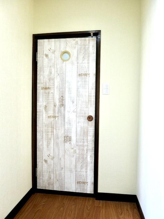 1F サニタリー&バストイレ。 和洋折衷 広い和室とスヌーピー オフィス・ペット可 城主町貸家15