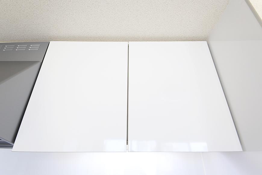 【ミュプレ矢場町】1103号室_LDK_キッチン周り_頭上の収納_MG_0383