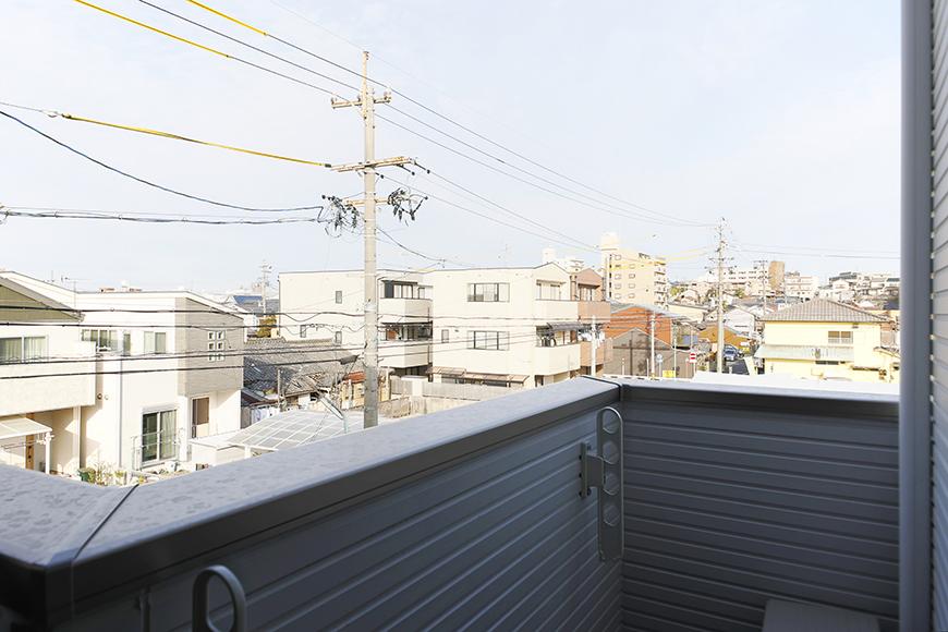 【ガレラ守山】4号室_3階_洋室_ベランダからの眺望_MG_7342
