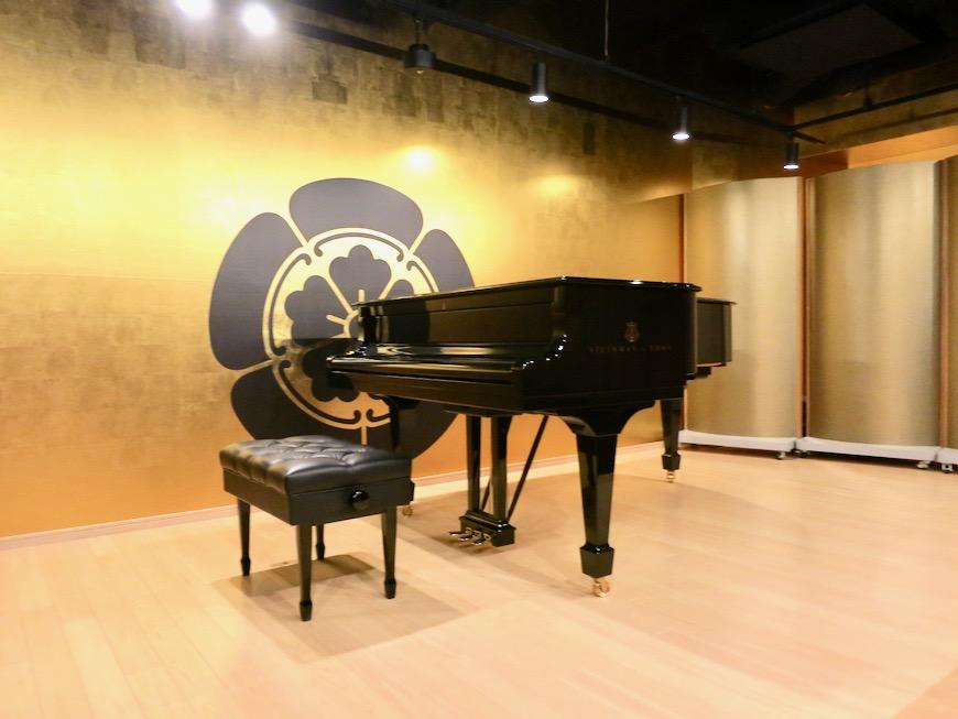 音楽ホール 美 Solent motoyama 801号室 グランドピアノが置ける部屋1