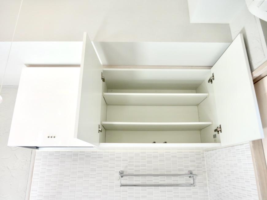 システムキッチン 土壁風仕上げの壁 BOX HOUSE 4A2