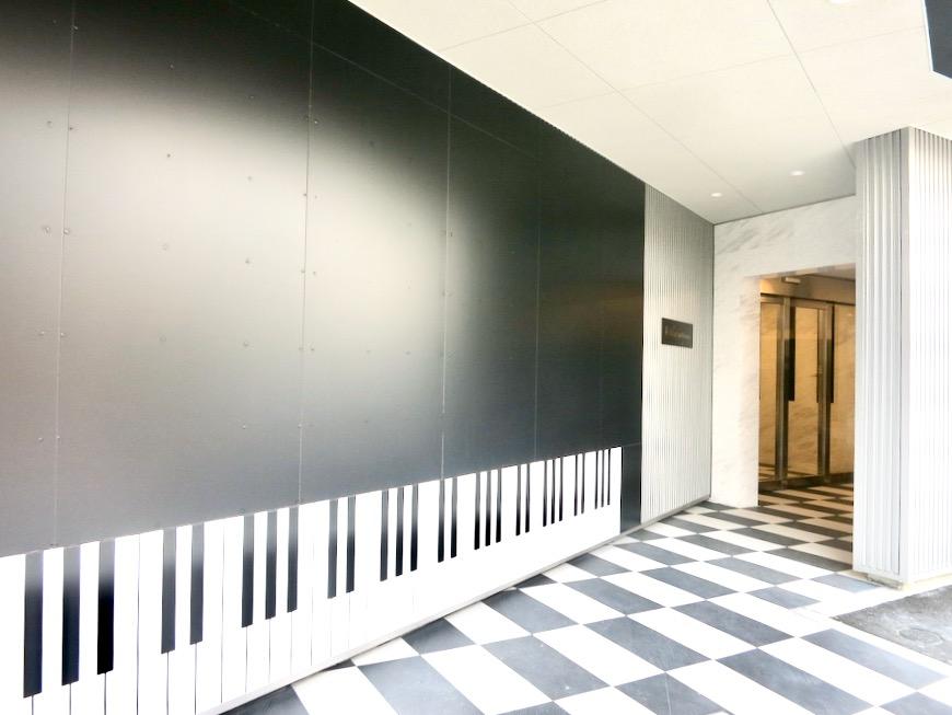 外観 美 Solent motoyama 801号室 グランドピアノが置ける部屋2