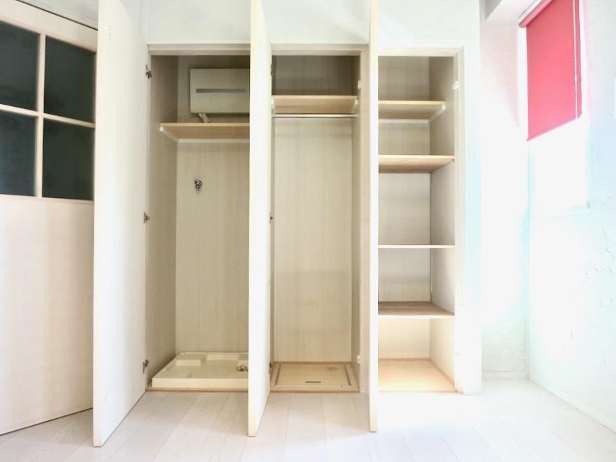 ●7帖個室 土壁風仕上げの壁 BOX HOUSE 4A11