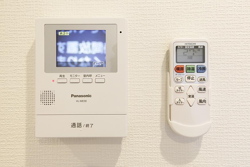 【ガレラ守山】4号室_3階_洋室_TVモニタ付きインターフォン_MG_7312