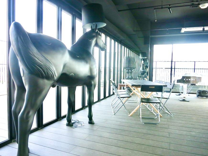 パーティルーム 美 Solent motoyama 801号室 グランドピアノが置ける部屋0