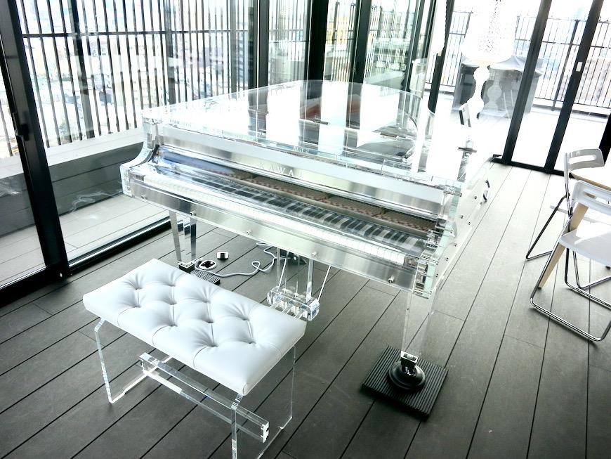 パーティルーム 美 Solent motoyama 801号室 グランドピアノが置ける部屋2