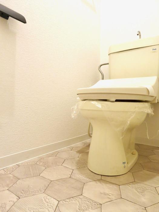 トイレ。川原ロイヤルハイツ3B4