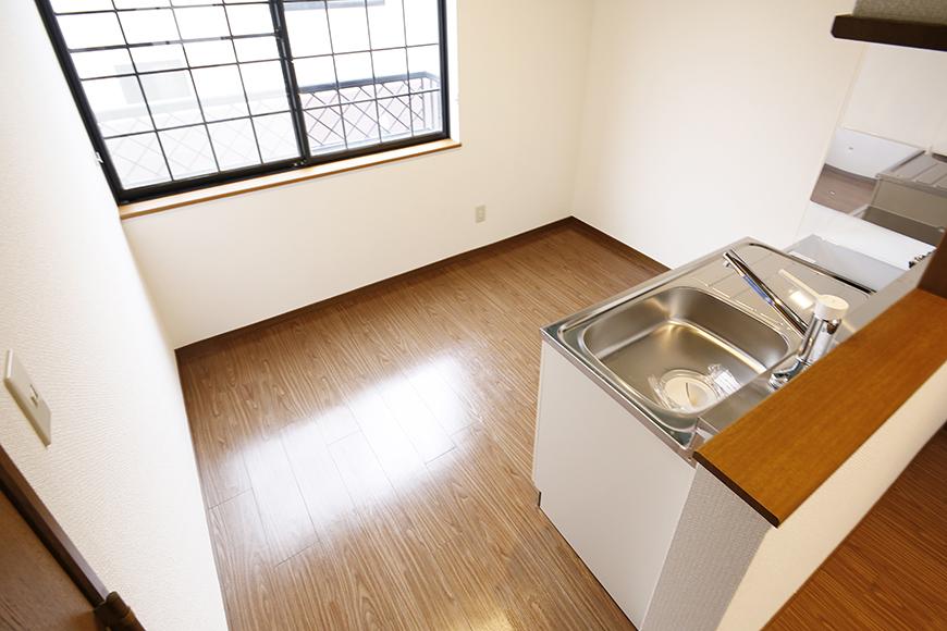 清須市【シャトー】102号室_二階_LDK_キッチン周り_MG_8614