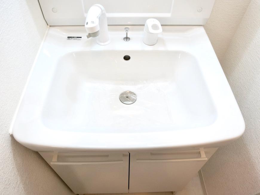 バスルーム&サニタリールーム。川原ロイヤルハイツ3B7