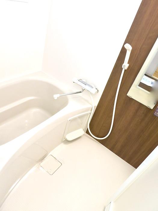 バスルーム&サニタリールーム。川原ロイヤルハイツ3B2