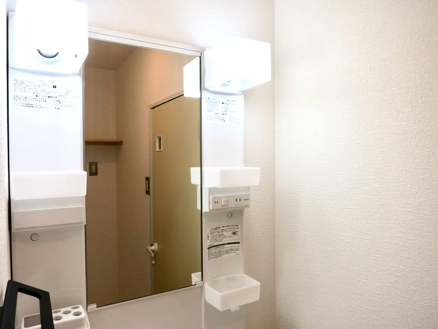 バスルーム&サニタリールーム。川原ロイヤルハイツ3B8