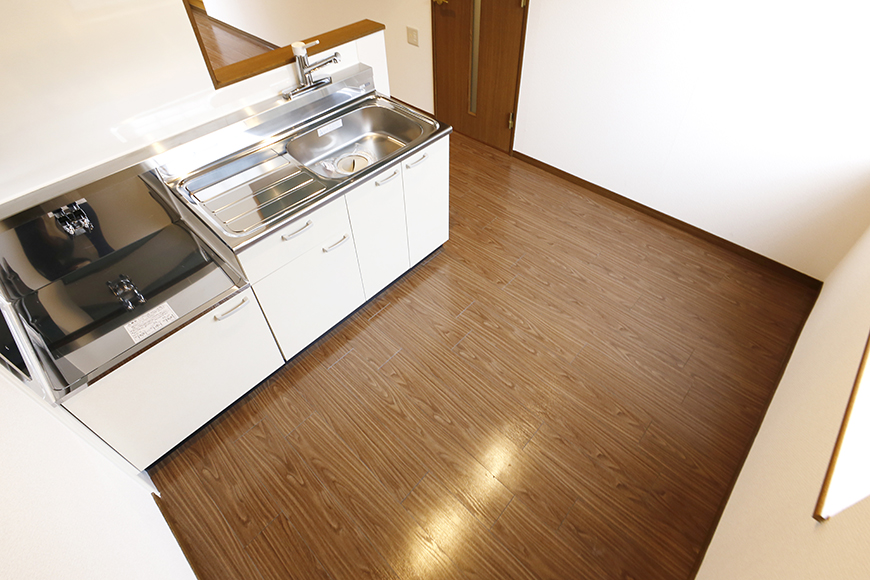 清須市【シャトー】102号室_二階_LDK_キッチン周り_MG_8643