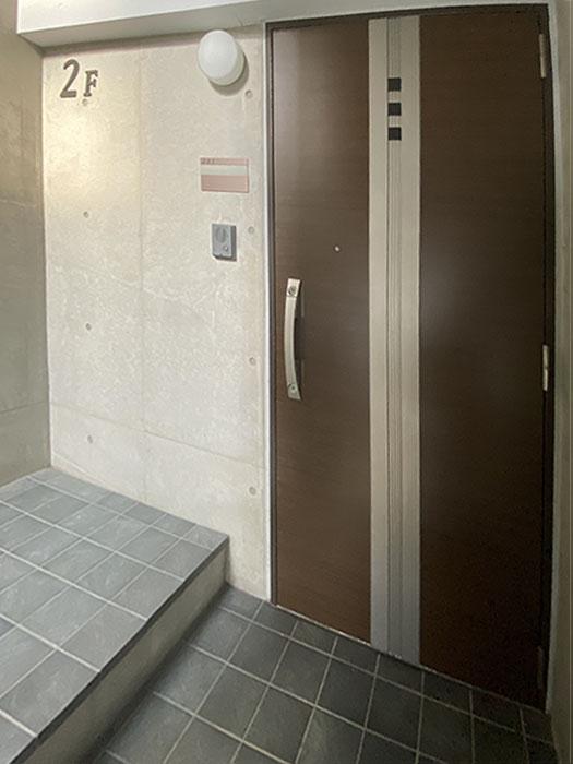 MATRIX38玄関