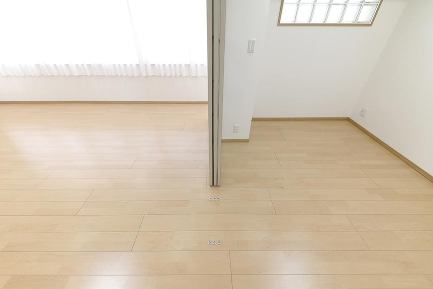 【ハイライク栄ハイツ】_805号室_LDKと洋室1を仕切るドアを開放_MG_3314