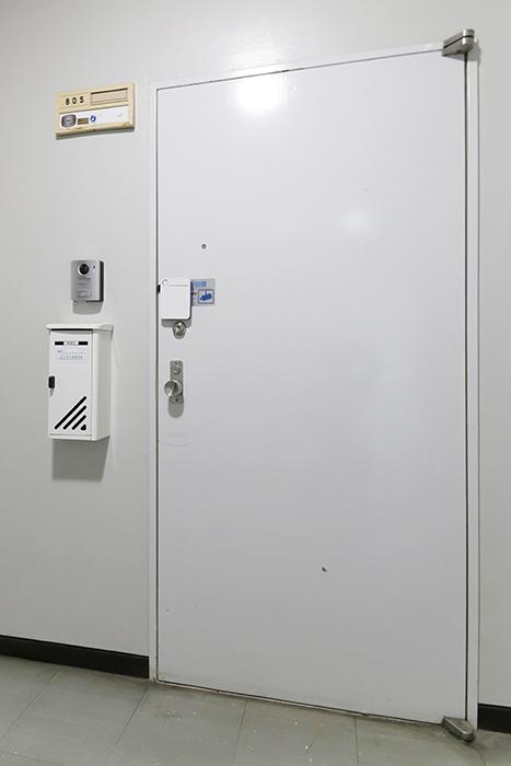 【ハイライク栄ハイツ】_805号室_玄関ドア_MG_2977