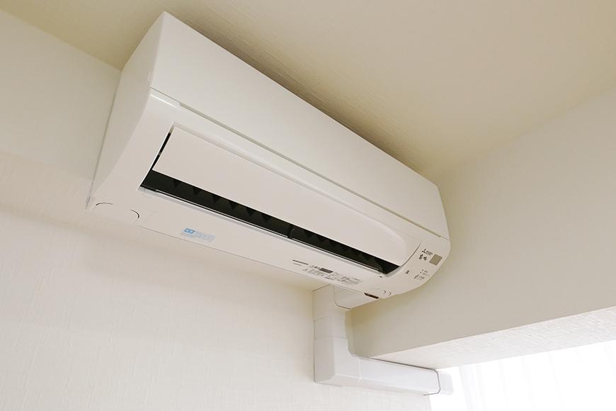 【ハイライク栄ハイツ】_805号室_LDKにエアコン一基完備、洋室にももう一基完備です_MG_3132