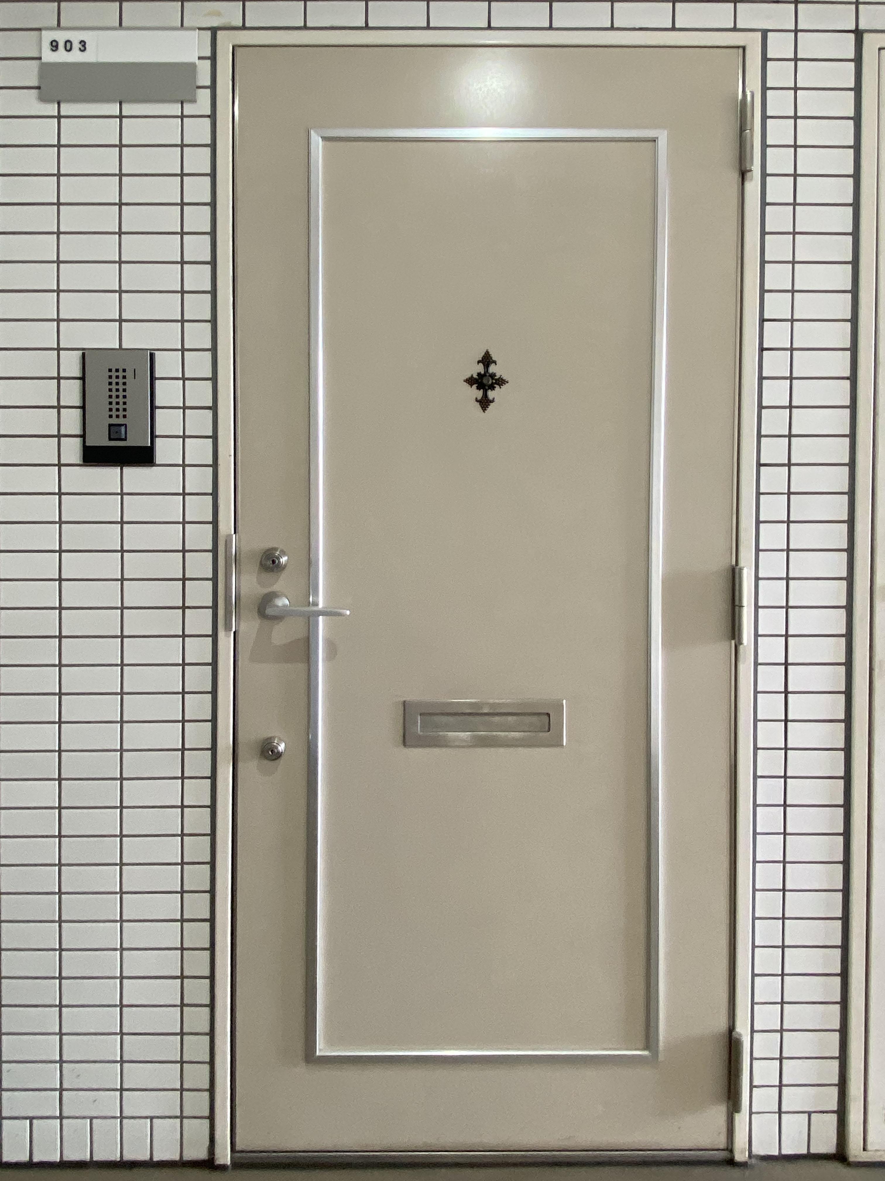 ドゥ・エトワール903号室玄関