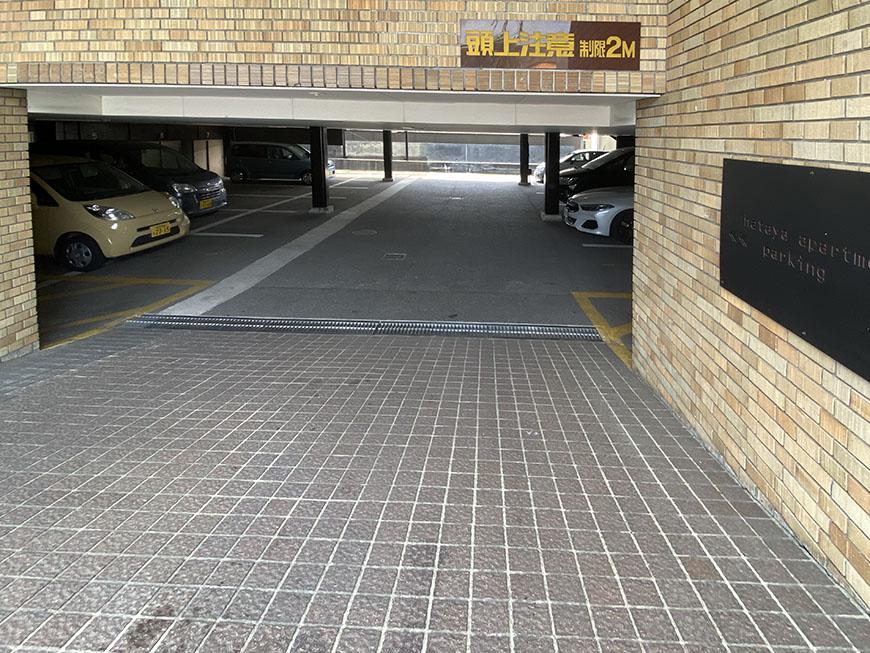 HATAYAアパートメント駐車場