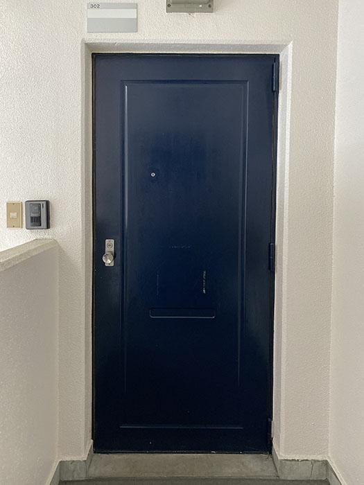 プロスパー第8ビル302号室玄関