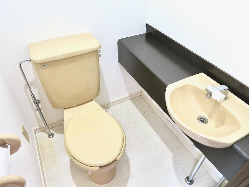 トイレ ビラ三秀山中505号室1