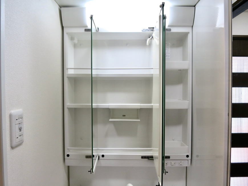 サニタリー&バスルーム ビラ三秀山中505号室10
