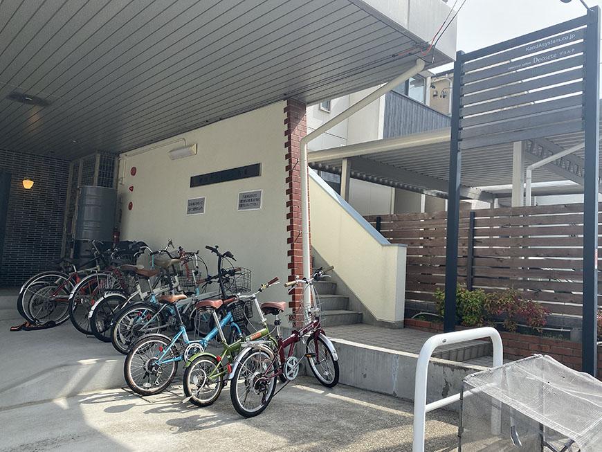 神田ヴィレッジ名東駐輪場