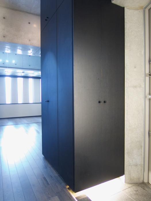 玄関 照明inコンクリート「印象派」ARK HOUSE 南館3-C 00007