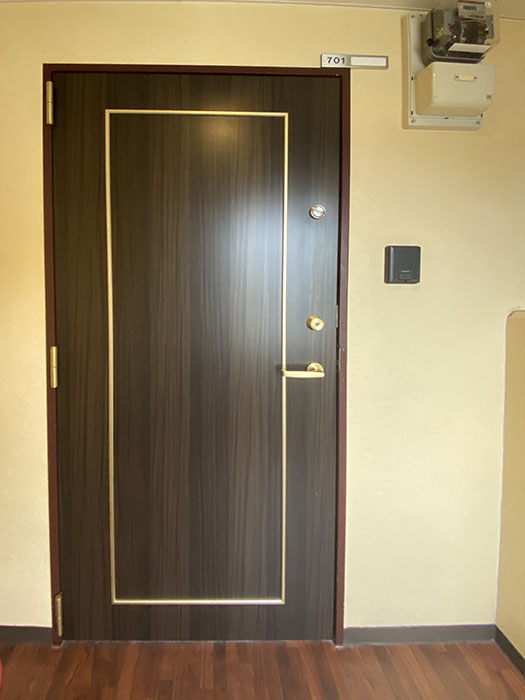 BIANCASA水主町701号室玄関