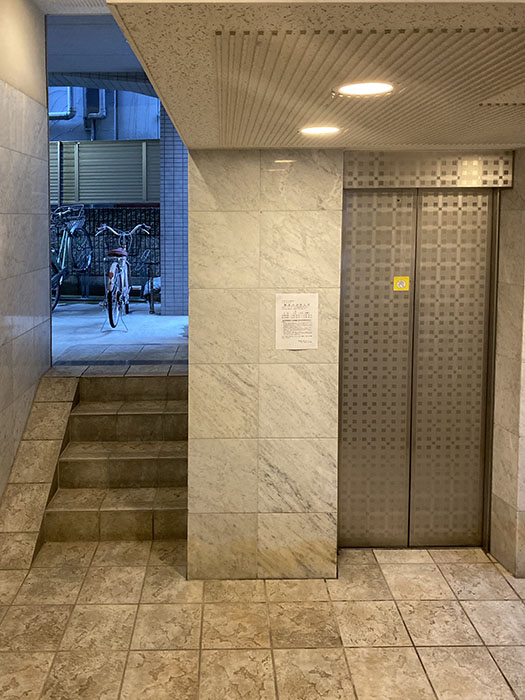 HARADA栄南ビルエレベーター