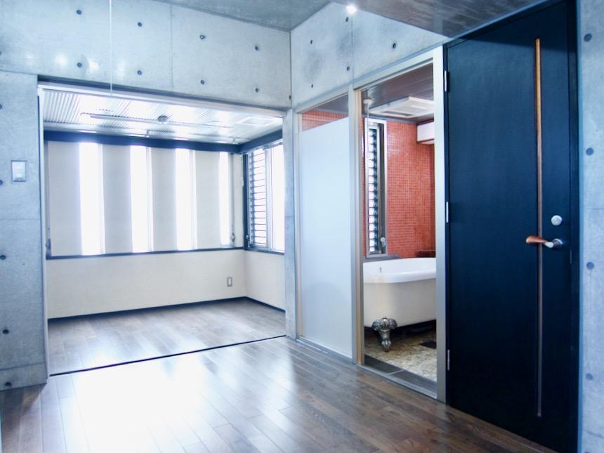 窓が素敵な3帖サンルーム 「印象派」ARK HOUSE 南館3-C 00011