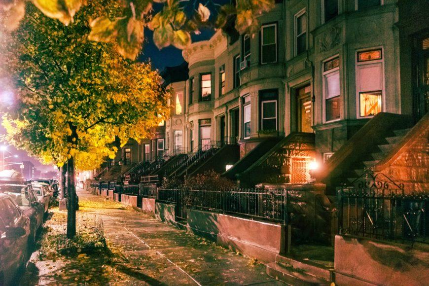ブルックリンを象徴する街並み27C927E8-5FA6-4596-BAE3-F09A1BAF2FEC