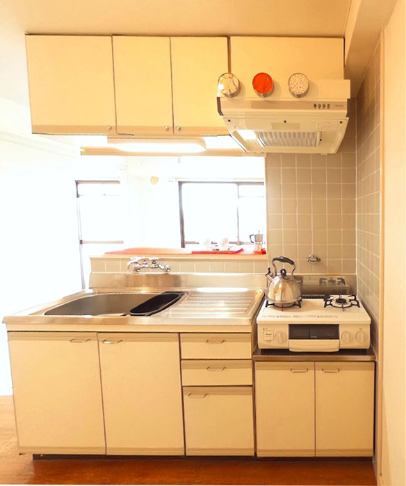 MA MAISON 弐番館 401号室キッチン