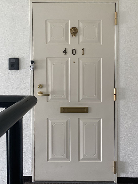 MA MAISON 参番館 401号室ドア