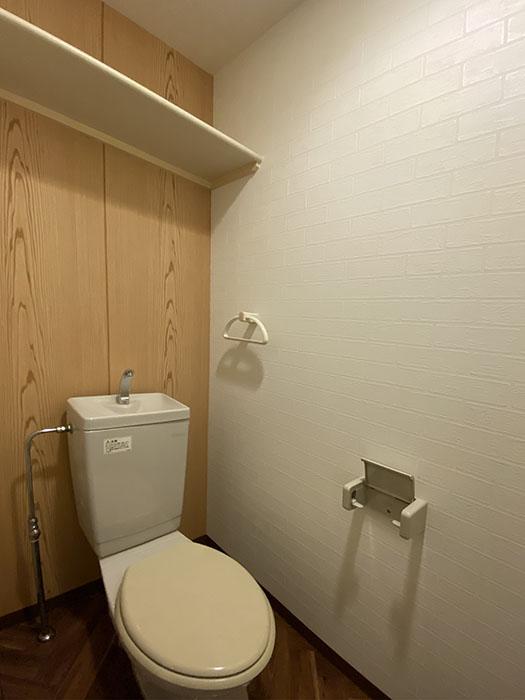 プロビデンス栄 303号室 トイレ