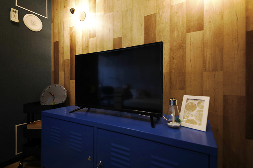 星が丘【02/HM】301号室_洋室_テレビ台にもこだわりを見せたいところ!_MG_5201