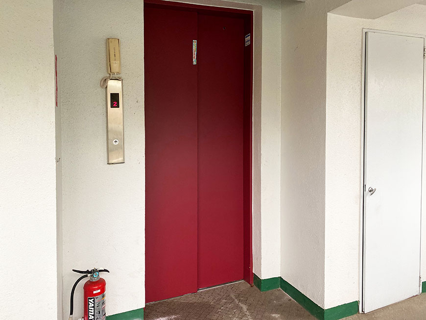 星ヶ丘ハイツ エレベーター