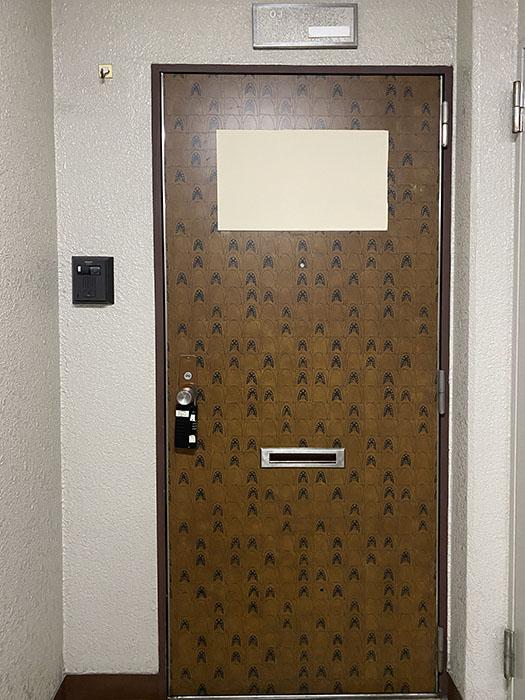 シーアイマンション南大津 玄関ドア