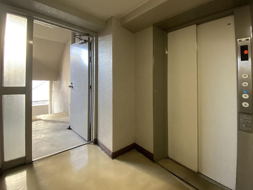 シーアイマンション南大津 エレベーター
