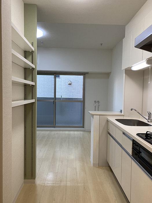 グランドソレイユ道下 201号室 キッチン