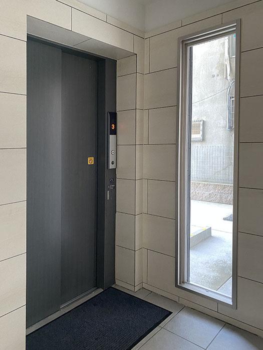 グランドソレイユ道下エレベーター