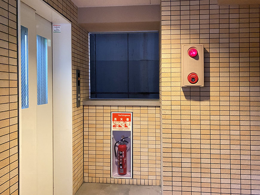 Studioナディア エレベーター
