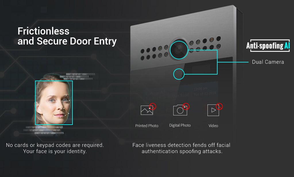 顔認証集合玄関ドアシステムイメージ2
