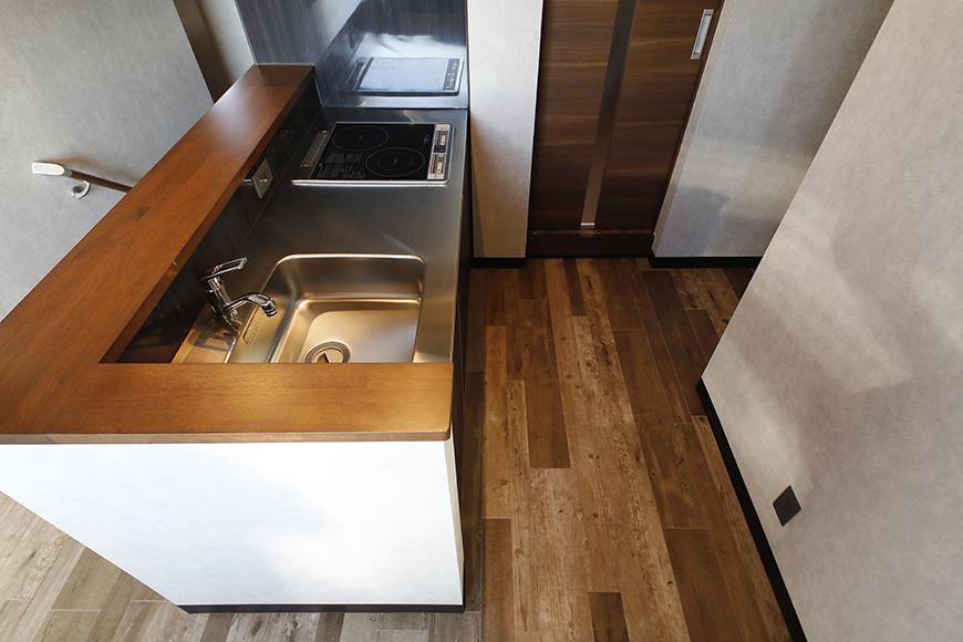こちらがキッチンスペースです。_MG_8540