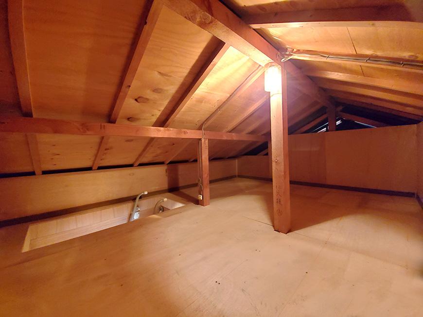 屋根裏部屋