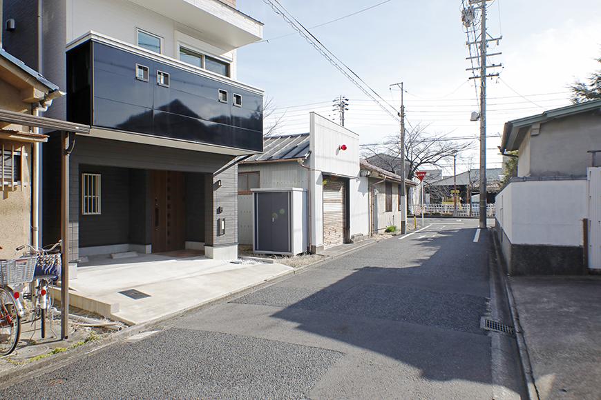 【RadIAnceさくら(レイディエンスさくら)】外観_建物前の道路幅_MG_0451