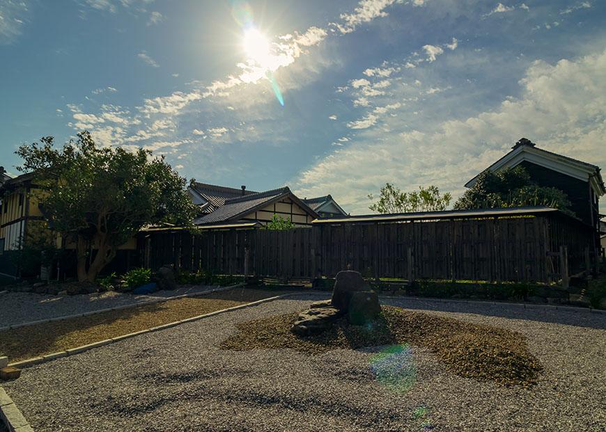 山田邸敷地