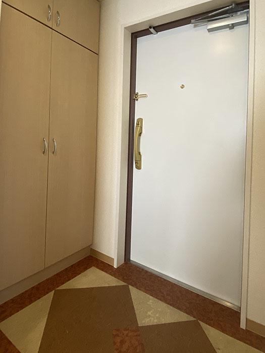 プロビデンス栄南 901号室玄関