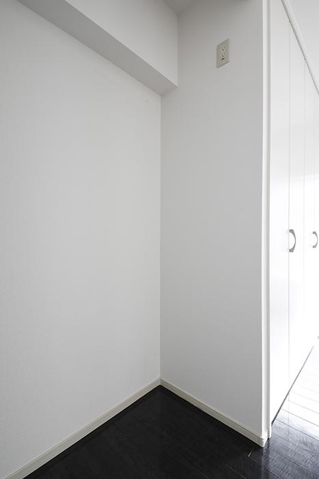 【山幸ビル】203号室_洋室_キッチン_冷蔵庫置き場_MG_3271