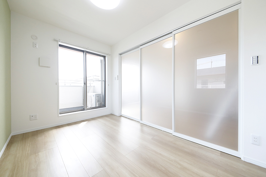 【Mon espace(モンエスパス)】A号室_2階_洋室(5.0帖)_全景_MG_9668