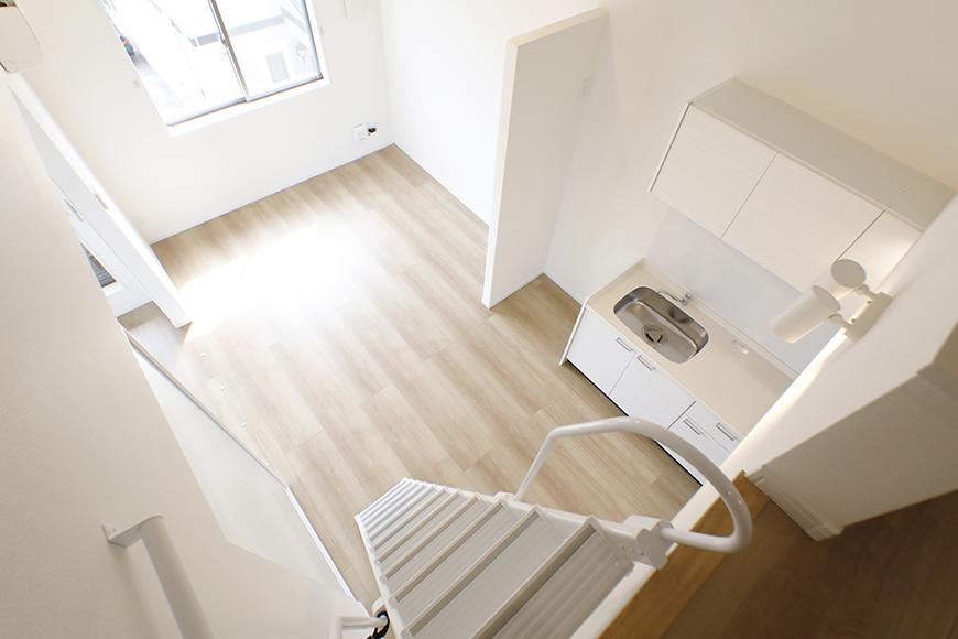 【Mon espace(モンエスパス)】A号室_2階_ロフトからの眺望_MG_9719